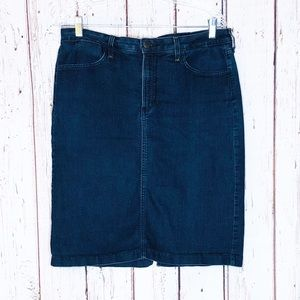 Not your daughters jeans denim skirt 10P